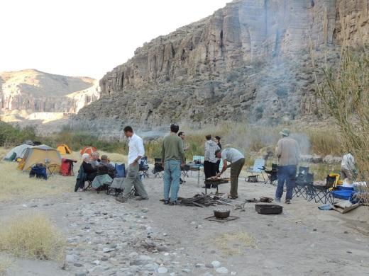 s-1g-Campsite Dinner Prep